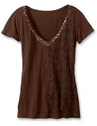Camisa Mujeres con lentejuelas de Eddie Bauer
