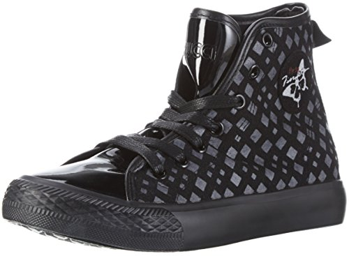Fiorucci Damen Fdad019 High-Top Schwarz (Nero)