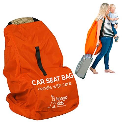 Kindersitz Tasche – Einfach Reisen und Geld Sparen - Robuste Kindersitz Transporttasche – Schutz vor Keimen und Schäden. Transportable Reisetasche für Autositz – Passt auf die meisten Marken