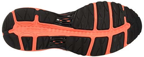 Asics Cumulus 18 G Tx, Chaussures de Running Femme Nero (Black/Silver/Flash Coral)