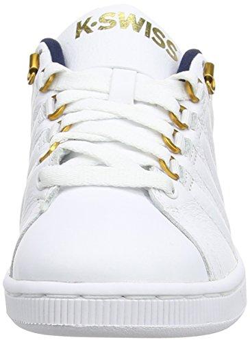 K-Swiss Damen Lozan Iii Sneaker White (White/Dress Blues/Ribbon Red)