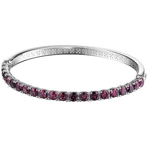 Esprit Collection Idya Berry ELBA91044D600 - Bracciale da donna in argento sterling 925 rodiato, con zirconi, colore: