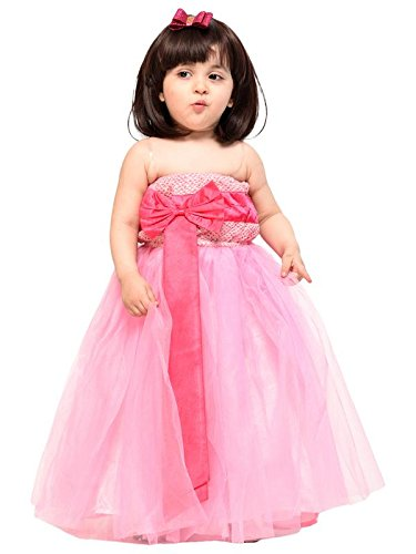 14115fa5888 Samsara Couture Baby Girls Ball Gown Full Length Party Wear Dress ...