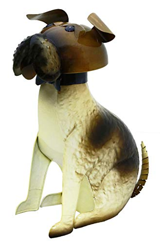 Kreatif Kraft Bull Dog Ornement de Jardin, Métallique