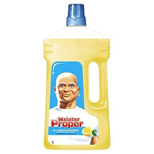 Meister Proper Allzweckreiniger Citrusfrische 1L, 4er Pack (4 x 1 l)