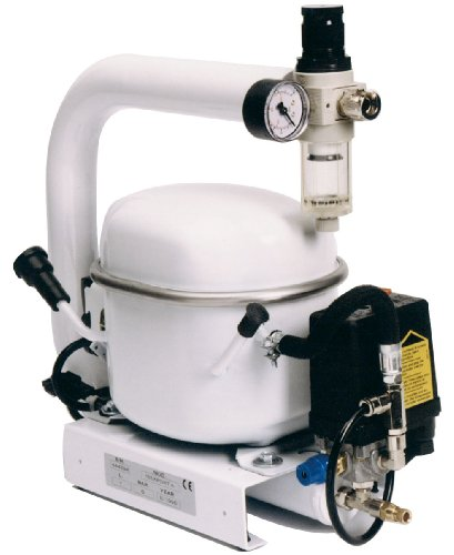Mecadeco 425612 Compressore silenzioso 1 L