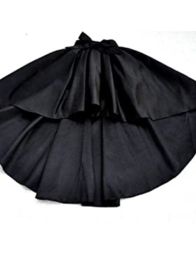 De las mujeres Faldas - Asimétrico Vintage Microelástico - Seda , m