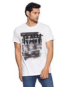 d541ec0a39 G-STAR RAW Men s Cotton T-Shirt (8718598568834 D01954-4834-110 XX-