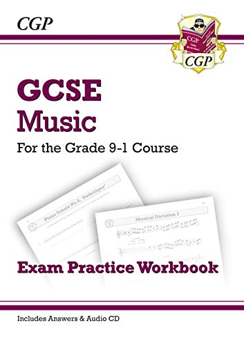 GCSE Music Exam Practice Workbook - for the Grade 9-1 Course (with Audio CD & Answers)