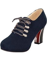 Zapatos Botines Disponibles Incluir es No De Tacón Mujer Amazon Hf6xqY