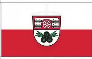 Königsbanner Autoflagge Großbartloff - 30 x 45cm - Flagge und Fahne
