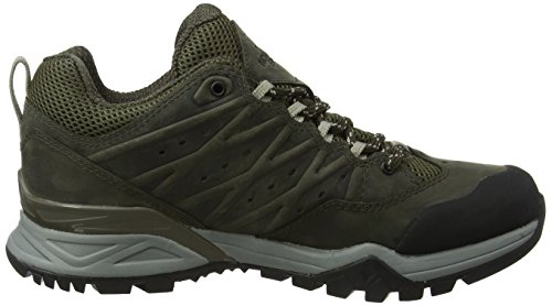 The North Face Hedgehog Hike Gore-Tex II, Chaussures de Randonnée Basses Homme Vert (Tarmac Green/burnt Olive Green)