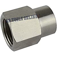 """1/2"""" BSP to 3/8"""" BSP Air Fitting Female Reducing Socket Compressor Adapter FT045"""