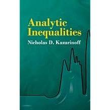Analytic Inequalities (Dover Books on Mathematics)