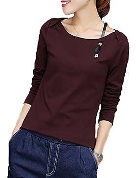 XGMSD Slim Shirt Femenino Camisa De Bottom Cálida Del Invierno Del Otoño