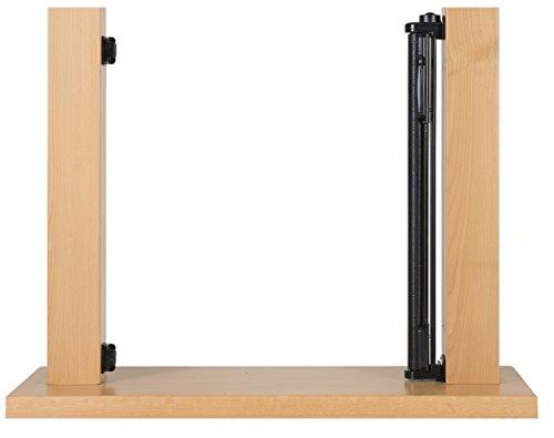 Impag Treppenschutzgitter Türschutzgitter Rollo einrollbar ausziehbar bis 140 cm - 4