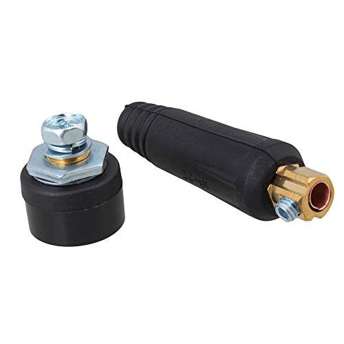 BQLZR Tragbare Schnell Montage Stecker mit Panel Buchse Kabelschweiß Anschluss 10-25mm