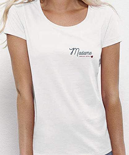Future Mme Mars-T-shirt femme-Bruno-Chanteur-Musique Musicien-Fan-Merch