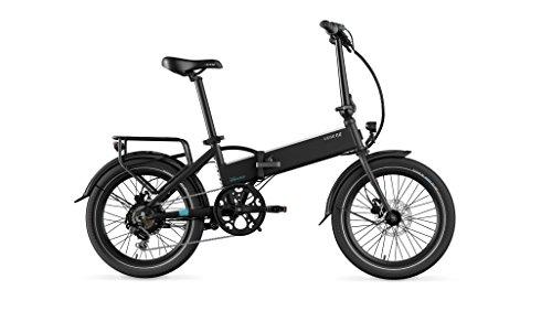 LEGEND EBIKES Monza 36V8Ah Bicicleta Eléctrica Plegable, Unisex Adulto, Negro Onyx, Talla Única