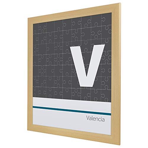 Bildershop-24 Cadre à puzzle / photo Valencia 60X85cm Hêtre 1500-2000 Pièces