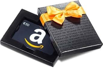 Amazon.de Box mit Geschenkkarte - 50 EUR (Alle Anlässe)