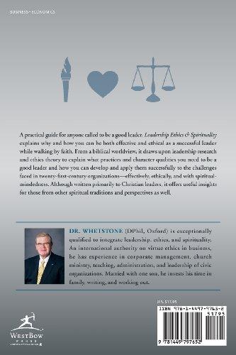 Leadership Ethics & Spirituality: A Christian Perspective