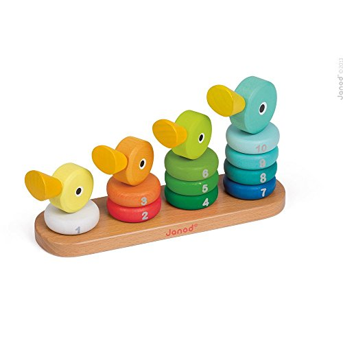 Janod Empilable Duck Family
