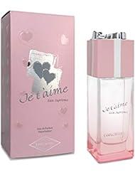 JE T'AIME Eau Suprême • Eau de Parfum 100 ml • Vaporisateur • Parfum Femme • EVAFLORPARIS