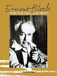 ERNEST BLOCH MUSIC FOR CELLO AND PIANO VLC par Various