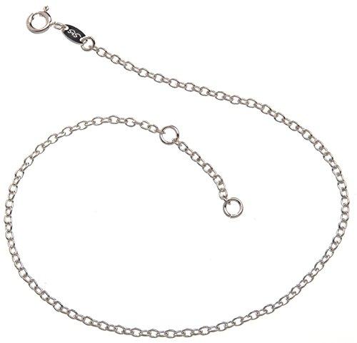 Base collana argento ciondolo 22 di larghezza lunghezza 23 30 925 argento viennagold