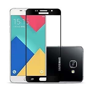 Samsung galaxy J7 Max Full Screen Coverage Black Color Tempered