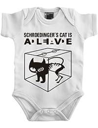 Touchlines Baby Body - Schroedingers Cat Is Alive - Body Bebé-Niños