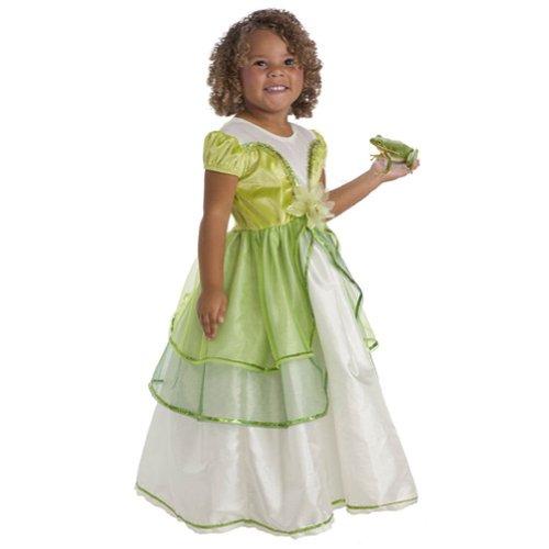 Little Adventures Wenig Abenteuer traditionellen Lily Pad Prinzessin Mädchen Kostüm-X-Large (7-9Jahre) (Tanz Schiere Kostüm)