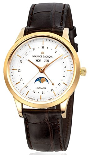 Maurice Lacroix Les Classiques lc6068 - YG101 - 13E 18 K de oro amarillo de los hombres automáticos del reloj de pulsera