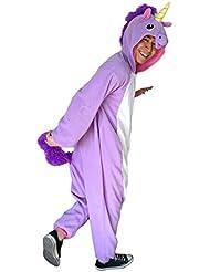 Adulte Unisexe Animal Costume Cosplay Combinaison Pyjama Outfit Nuit Fleece Halloween New Unicorn