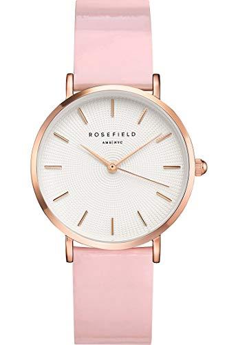 Preisvergleich Produktbild Rosefield Damen Analog Quarz Uhr mit Plastik Armband SHPWR-H37