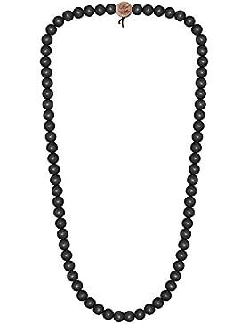 Wood Fellas Halskette in schwarz von 6-12mm