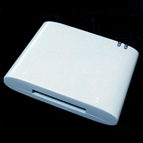TOOGOO 30pin Bluetooth Adapter 4.1 A2DP Audio Musik Empfaenger Fuer Bose Sounddock und 30Pin iPhone iPod Dock Lautsprecher, (Nicht mit Jedem Auto Kompatibel) (Weiss) Iphone-ipod-lautsprecher