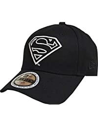 2bf8d814b0741 New Era Superman Glow in The Dark 9Forty Strapback Cap Black Youth  Jugendliche