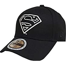 04a353c18be55 A NEW ERA Era Superman Glow In The Dark 9Forty Strapback Cap Black Toddler  Kleinkind