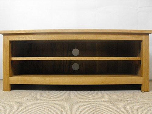 Meuble TV bas en Chêne Massif, support ou meuble, 800 x 400 mm 1 étagère réglable, idéal pour la salle de séjour ou salon
