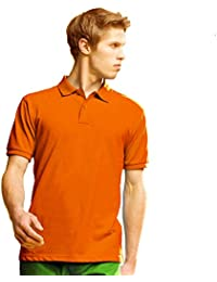 1148cdc5f74 LOVETRENDS Orange Mens Polo Shirts 100% Cotton Asquith   Fox Top In Sizes  Small-