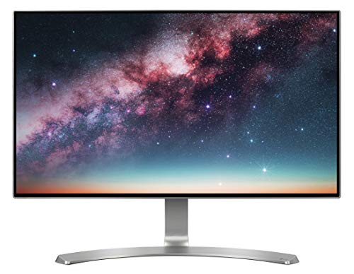 "LG 24MP88HV-S Monitor per PC Desktop 24"" LED IPS, Full HD 1920x1080, 5ms, 60Hz, 2x HDMI, 1x VGA, Speaker Integrati 10W, Argento"