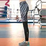 Elastic Women Yoga Leggings Floral Printed Yoga Sport Tight Pants-Parent