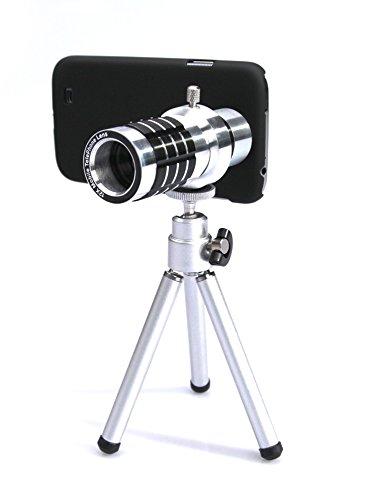 Arktis Profi iPhone 7 Zoom-Objektiv 12 x inkl. Stativ & Hülle Schutzhülle Case für faszinierende Fotos im Zoom-Bereich