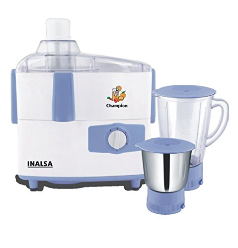 Inalsa Champion JUICER MIXER GRINDER 451 watt with 2 jar  available at amazon for Rs.2820