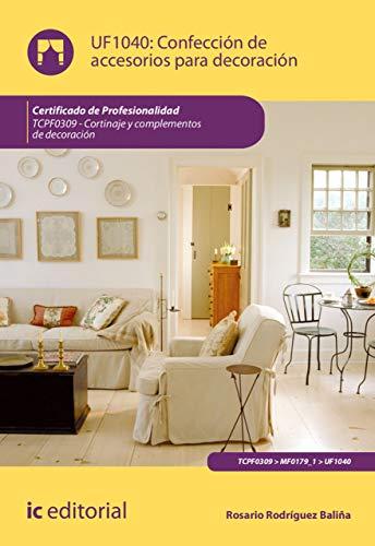 Confección de accesorios para decoración. TCPF0309 eBook: Rosario ...