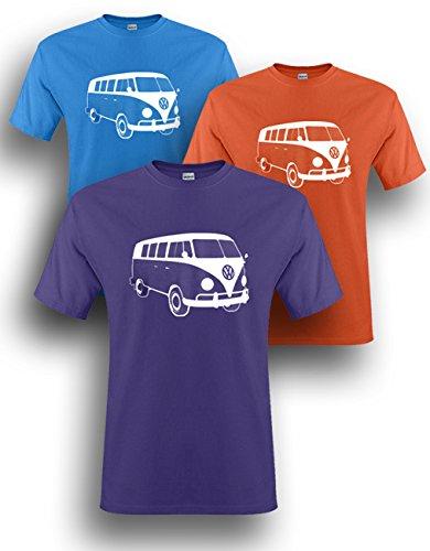 Mens-VW-Campervan-Camper-Retro-camp-Van-Volkswagen-Top-T-shirt-NEW-S-XXL