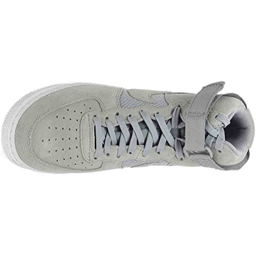 Nike Air Force 1 High 07, Scarpe Sportive, Uomo Pure Platinum / Wolf Gris-blanc