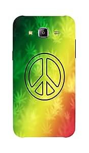Back Cover for Samsung Galaxy A7 Bob Marley Peace
